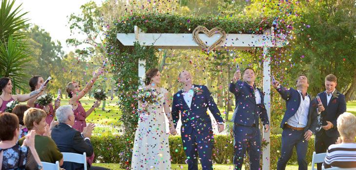 redlands wedding photographer golf club