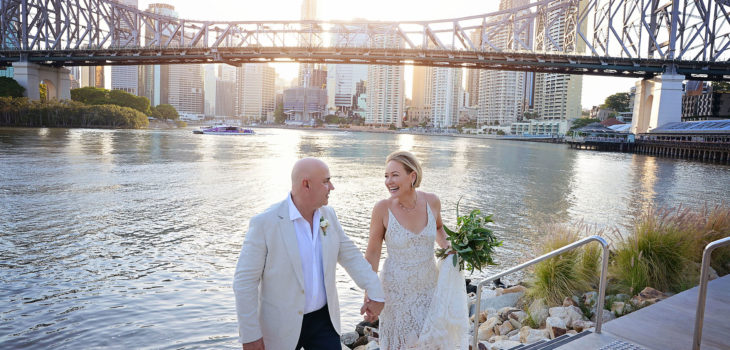 brisbane river wedding